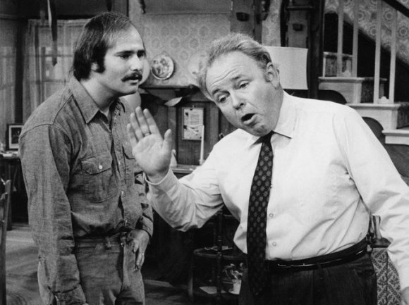 Archie Bunker and Meathead