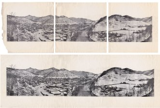 1922 Halftone Panorama Restoration