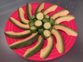 Cucumber & Avocado Salad