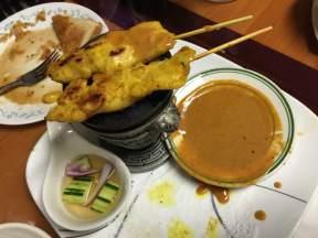 Chicken Satay with Peanut Sauce