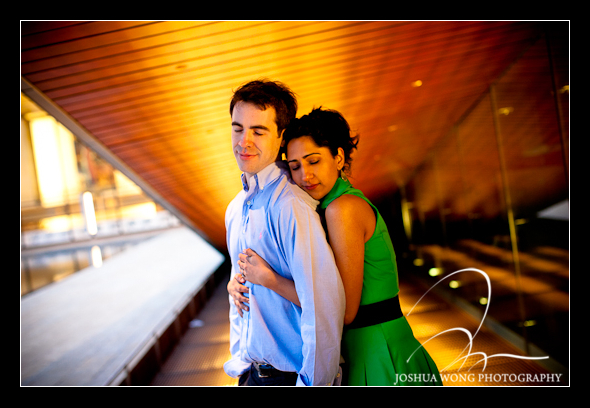 New York City Lincoln Center engagement photoshoot. Engagement Pictures by Josh Wong Photography