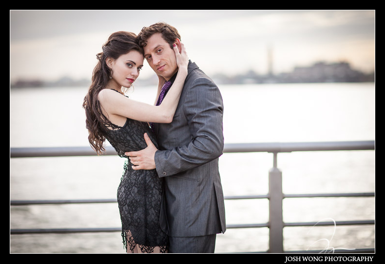 Pier 45 and Hudson River Engagement pictures, New York City Gallow Green - NYC
