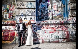 This Lower East Side Wedding includes wedding pictures from the Rivington Hotel, Angel Orensanz and Old St. Patrick's Cathedral. Wedding photos by NYC wedding photographer Josh Wong Photography.