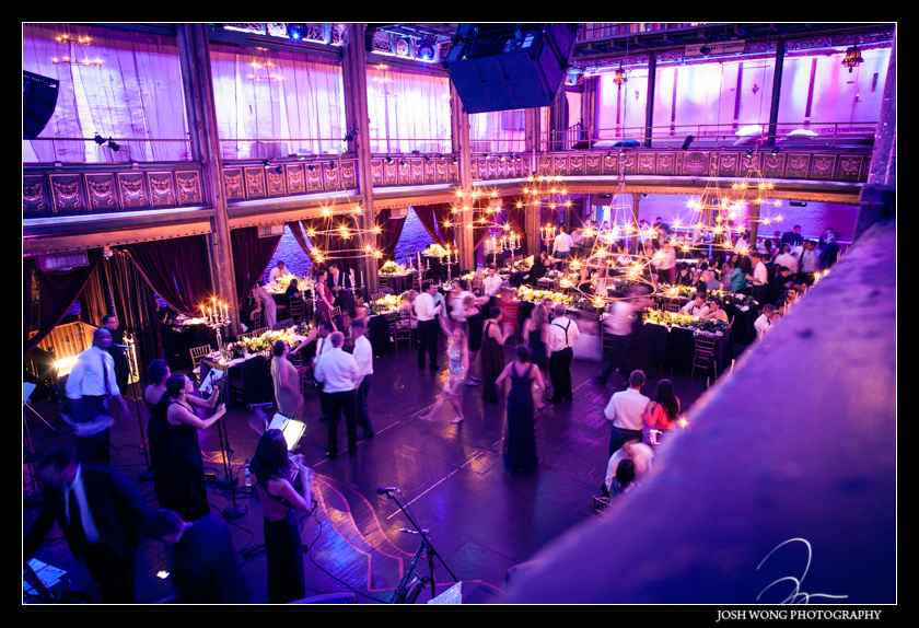 Dancing the night away at Angel Orensanz. Wedding pictures provided by Josh Wong Photography