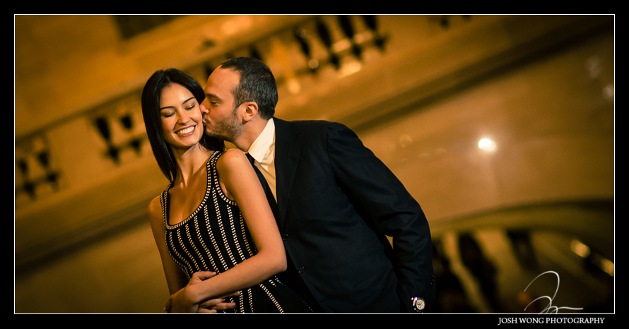 Winter Engagement Pictures in New York City - Soho and Grand Central Terminal - Josh Wong Photography