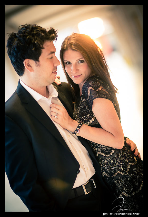 Fashion styled engagement photos in new york city