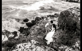 Destination Wedding at Grand Velas Resort in Playa Del Carmen, Mexico. Wedding Pictures and photos by top destination wedding photographer Josh Wong Photography