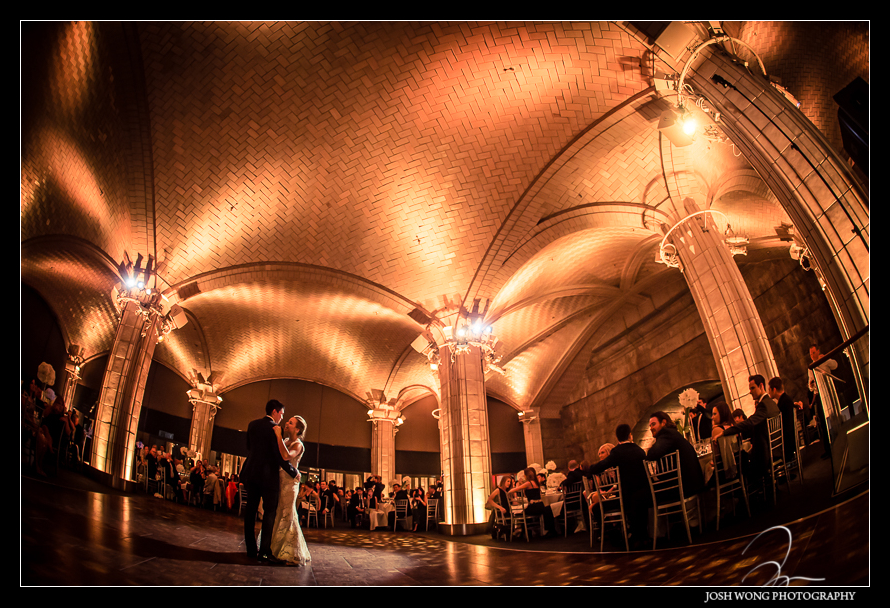 Guastavino's NYC Wedding. Wedding photo and pictures by NYC photographer Josh Wong Photography