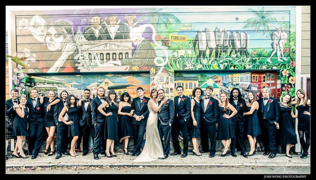 Balmy Street - The Murals at Balm Street in San Francisco by San Francisco Wedding Photographers Josh Wong Photography