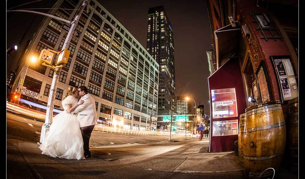 Lacey and John's Wedding - City Winery and The Dominick by Josh Wong NYC Wedding Photography