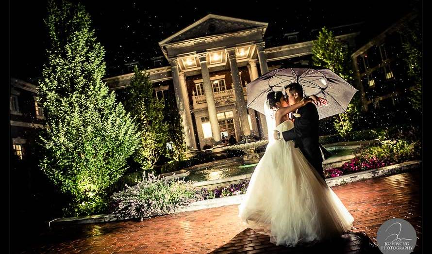 Wedding at the Bourne Mansion - wedding pictures by Josh Wong Photography
