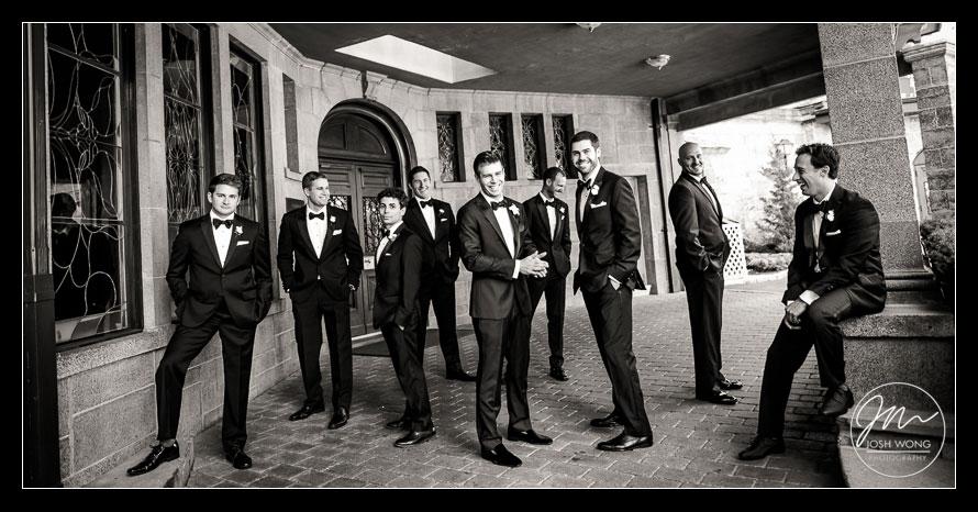 The groomsmen inspired GQ photoshoot.