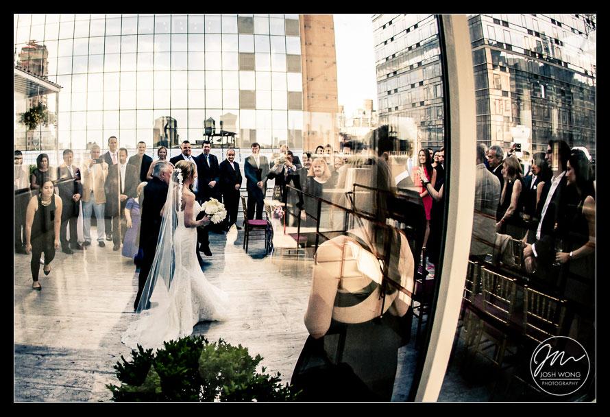 Studio 450 Rooftop Wedding