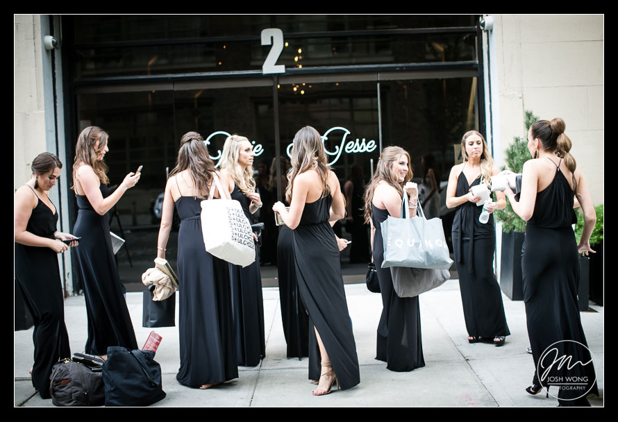 Tribeca Rooftop Wedding in New York City, wedding pictures by Josh Wong Photography