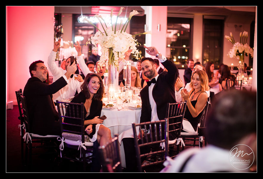 A Conrad Hotel and Tribeca Rooftop Wedding in New York City