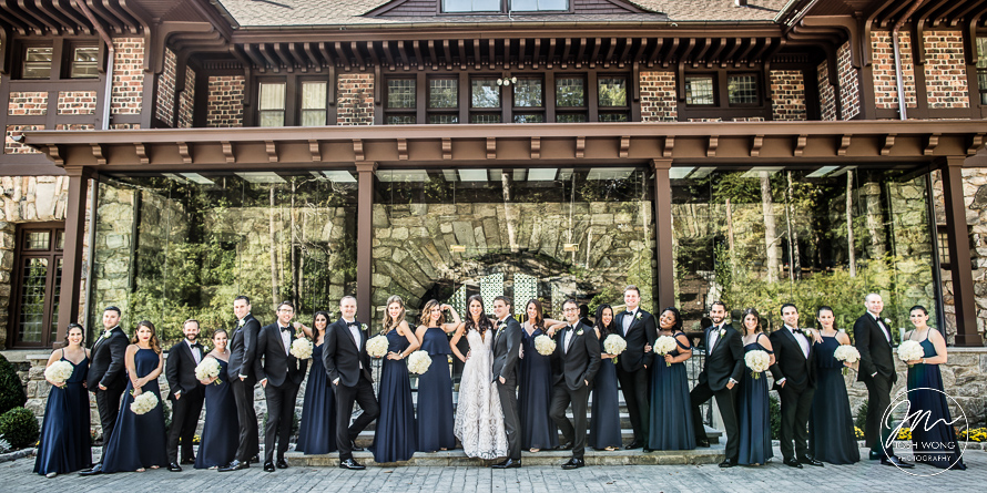 Le Chateau Wedding in South Salem New York. Wedding pictures by NYC Wedding Photographer Josh Wong Photography
