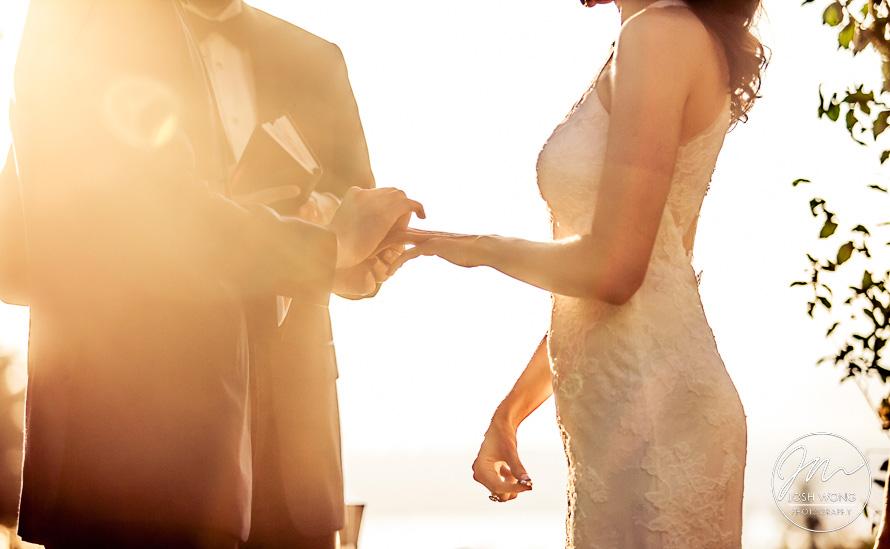 Breathtaking Sunset Wedding at Tappan Hill Mansion - Jacklyn and Zack - Josh Wong Photography