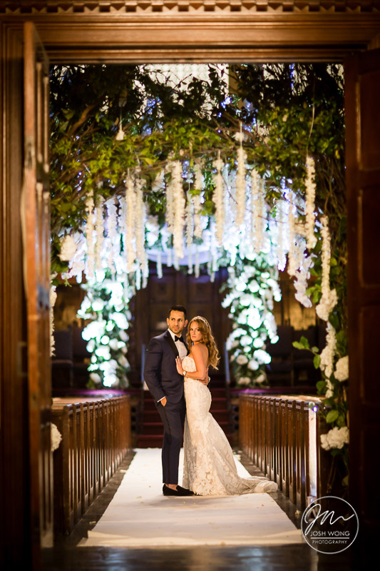 Temple Israel of Lawrence, NY - Wedding Photography