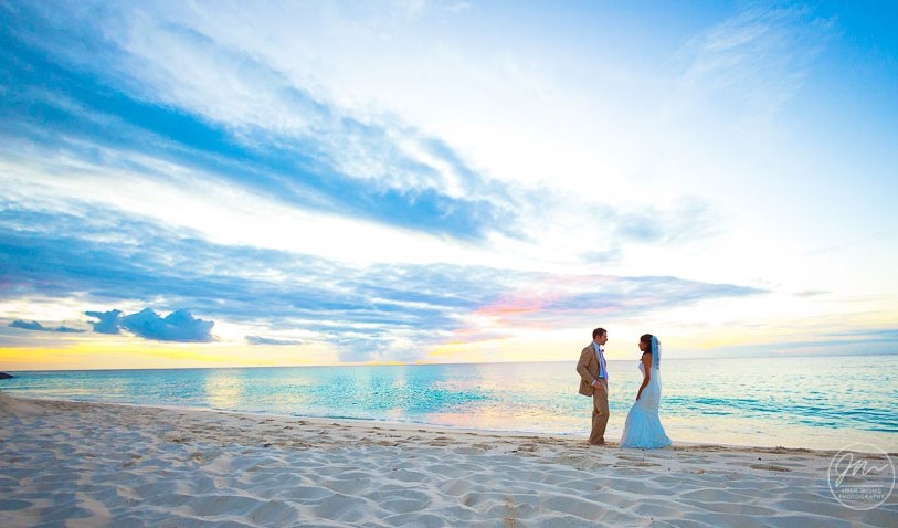 Providenciales Turks and Caicos Destination Beach Wedding at the Amanyara Resort. wedding pictures by destination wedding photographer Josh Wong