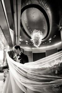A Mandarin Oriental Hotel Wedding - New York City. Wedding Pictures by NYC Wedding photographer Josh Wong Photography