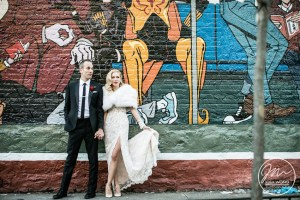 Bride and Groom wedding pictures. Wythe Hotel wedding pictures by NYC wedding photographer - Josh Wong Photography