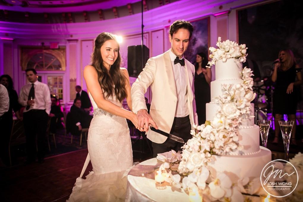 Cake Cutting - Wedding Cake by Ron Ben-Israel Cakes