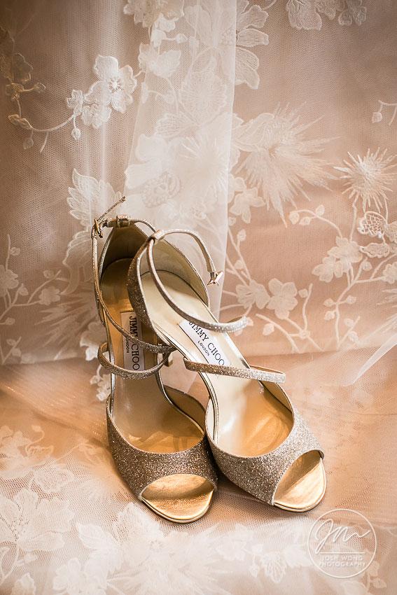 Emsy Glitter Sandal by Jimmy Choo