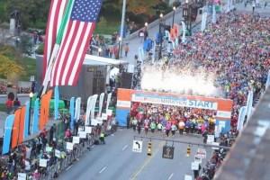 Columbus Marathon 2013 start