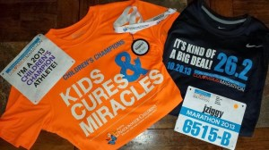Columbus Marathon 2013 Shirts and Bibs