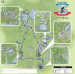 2018 Disney World Marathon Course Map