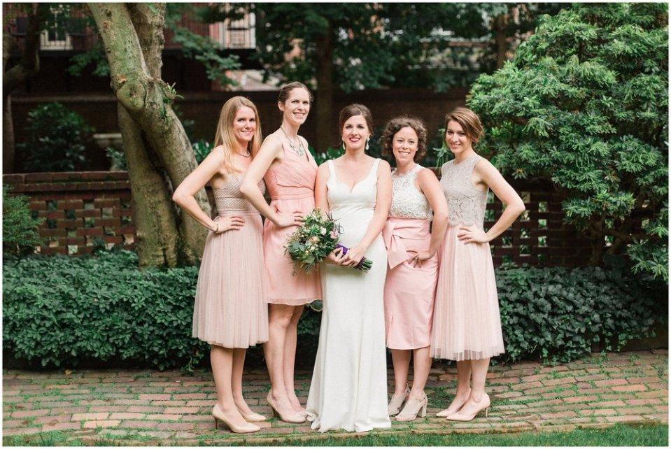 Cream And Blush Black Tie Wedding: A Classic Blush & Black Tie Wedding At The Colonial Dames