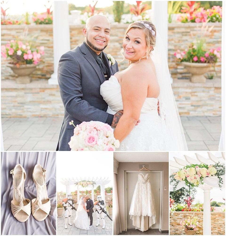 Pedro & Maggie's Star Wars Themed Wedding at La Bella Vista in Waterbury, CT Photos