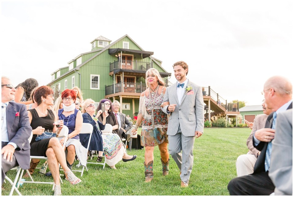 Cody & Hali's Boho Chic Barn Wedding at Thousand Acre Farms in Delaware Photos_0030.jpg