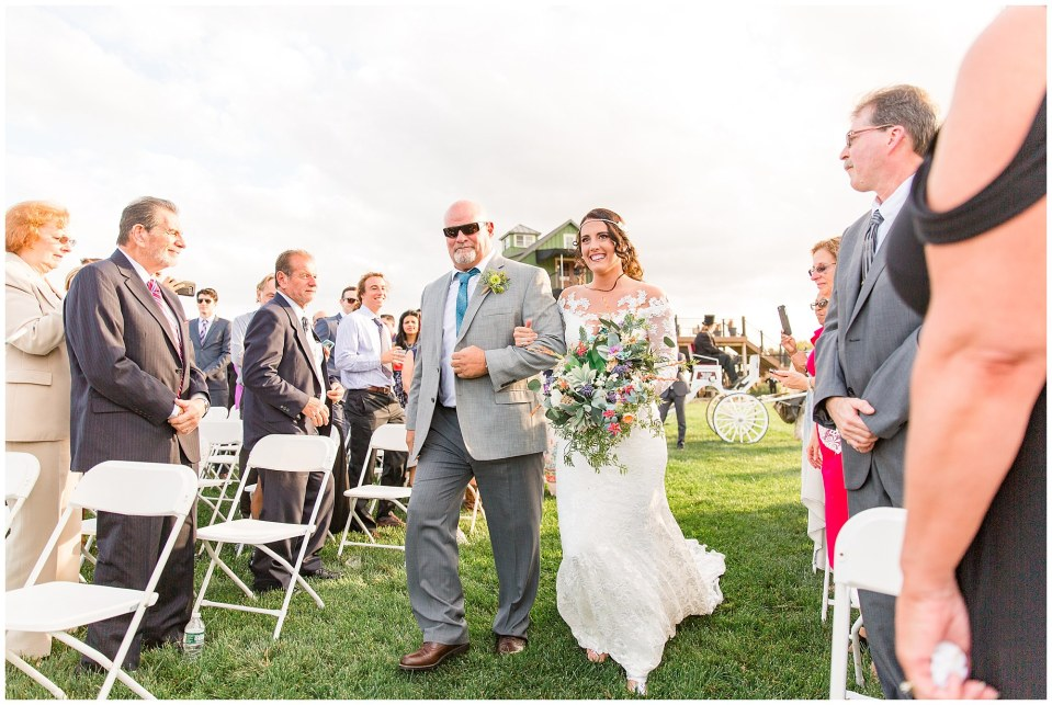 Cody & Hali's Boho Chic Barn Wedding at Thousand Acre Farms in Delaware Photos_0038.jpg