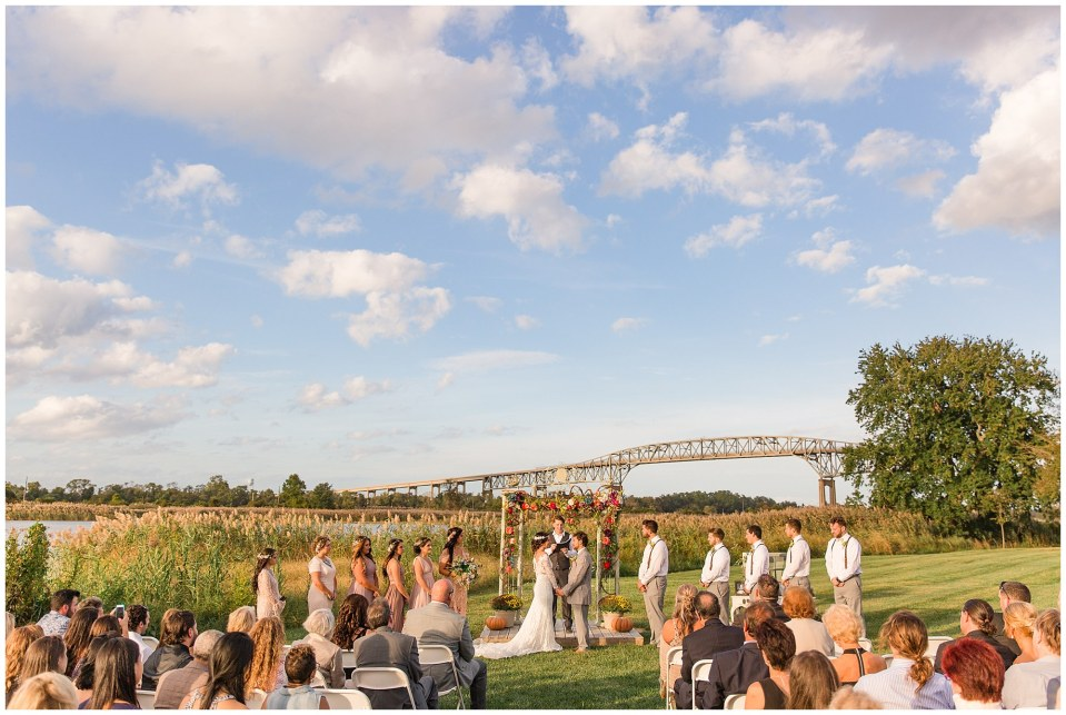 Cody & Hali's Boho Chic Barn Wedding at Thousand Acre Farms in Delaware Photos_0049.jpg