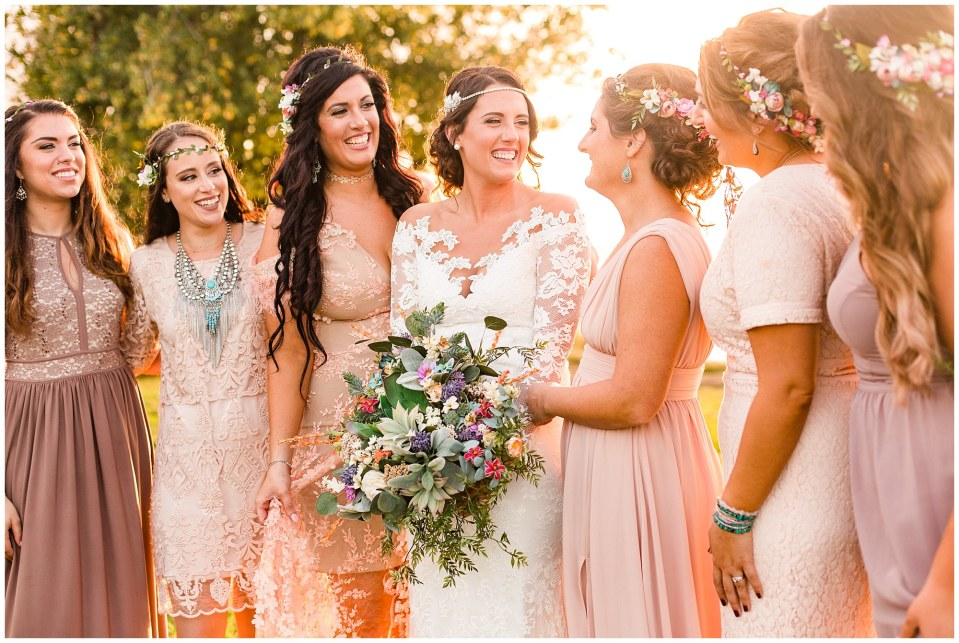 Cody & Hali's Boho Chic Barn Wedding at Thousand Acre Farms in Delaware Photos_0076.jpg