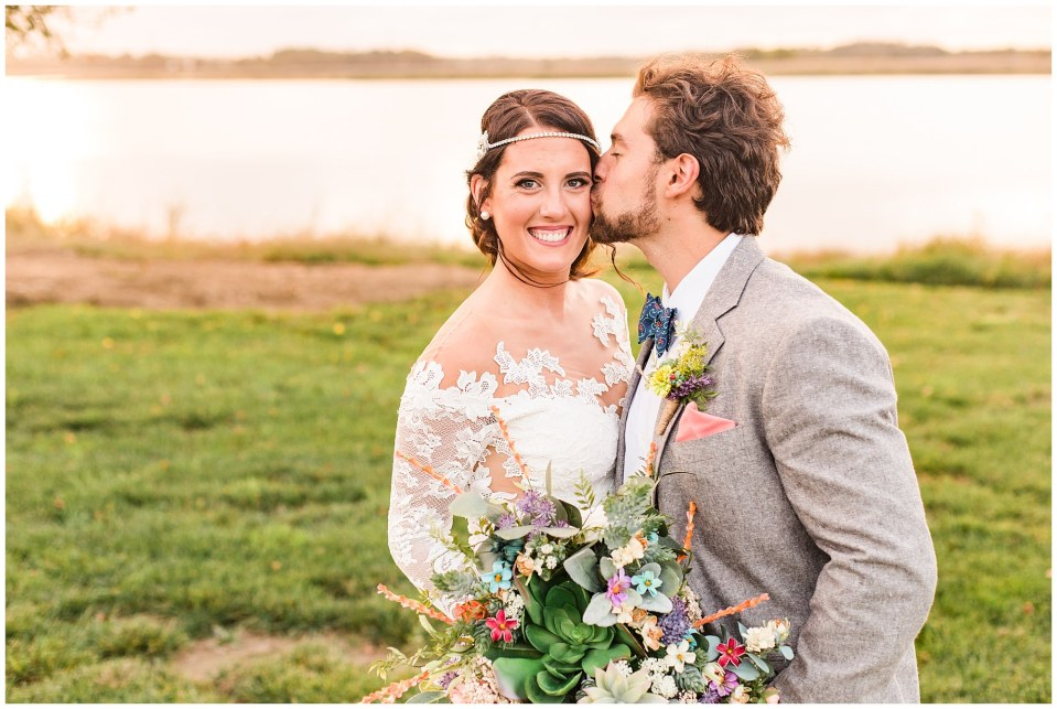 Cody & Hali's Boho Chic Barn Wedding at Thousand Acre Farms in Delaware Photos_0082.jpg
