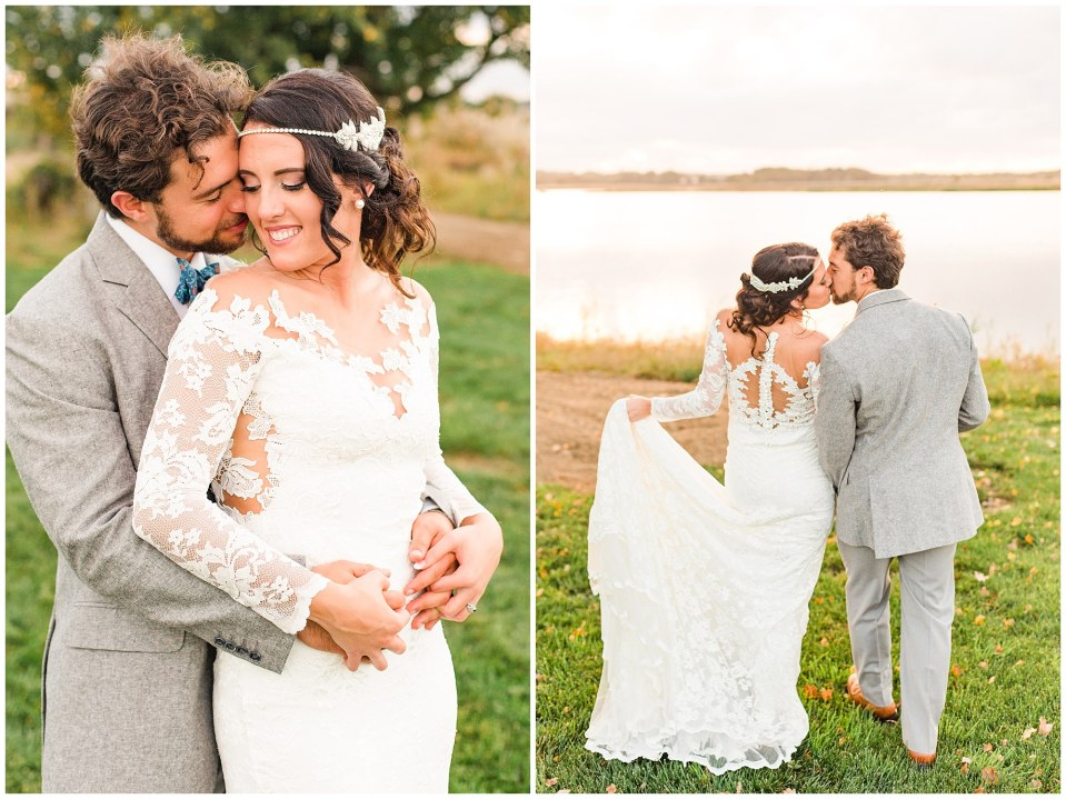 Cody & Hali's Boho Chic Barn Wedding at Thousand Acre Farms in Delaware Photos_0093.jpg