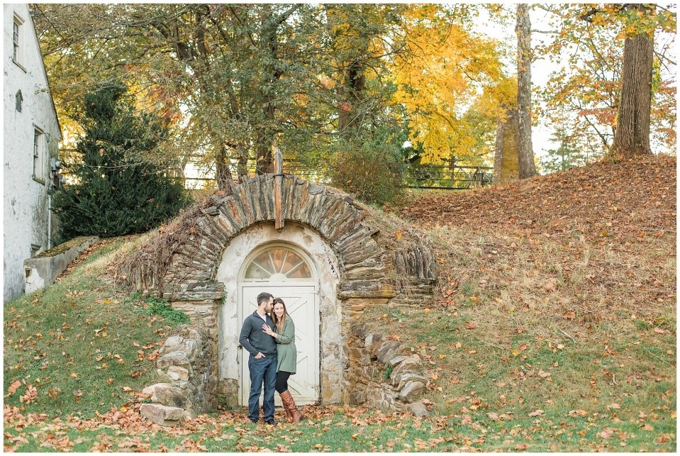 Mike & Jenny's Sunset Fall Engagement at Valley Forge Park and Philadner Chase Knox Estate Photos_0003.jpg