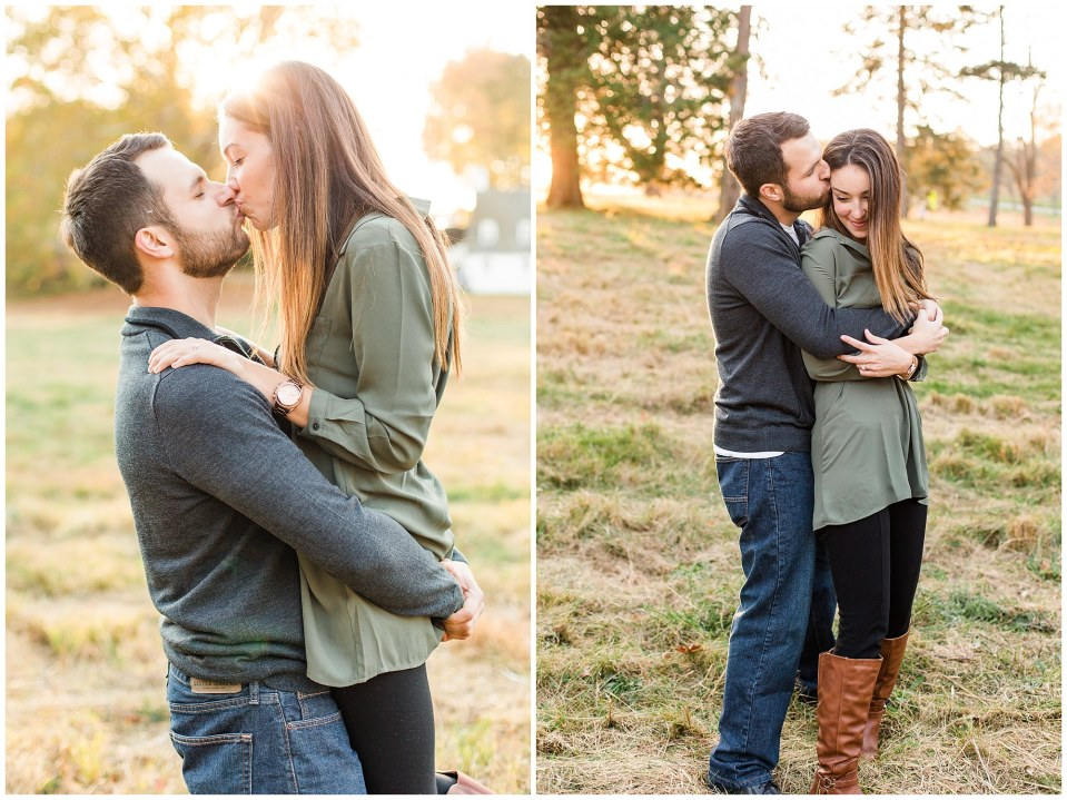 Mike & Jenny's Sunset Fall Engagement at Valley Forge Park and Philadner Chase Knox Estate Photos_0009.jpg
