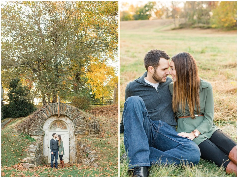 Mike & Jenny's Sunset Fall Engagement at Valley Forge Park and Philadner Chase Knox Estate Photos_0028.jpg