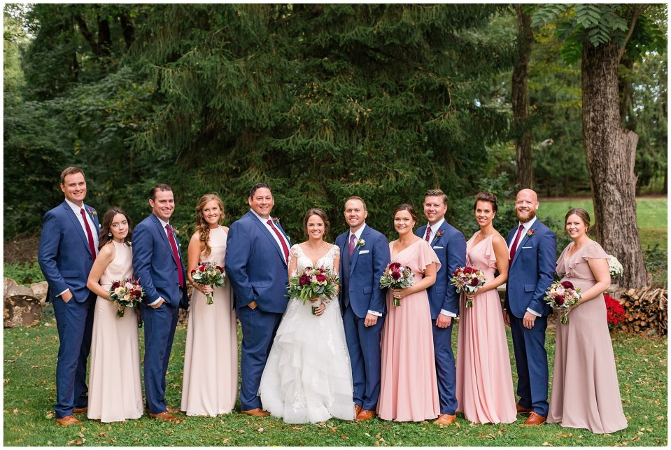 Nate & Jessie's Navy, Blush and Maroon Wedding at Aronimink Golf Club in Wayne, PA Photos_0042.jpg