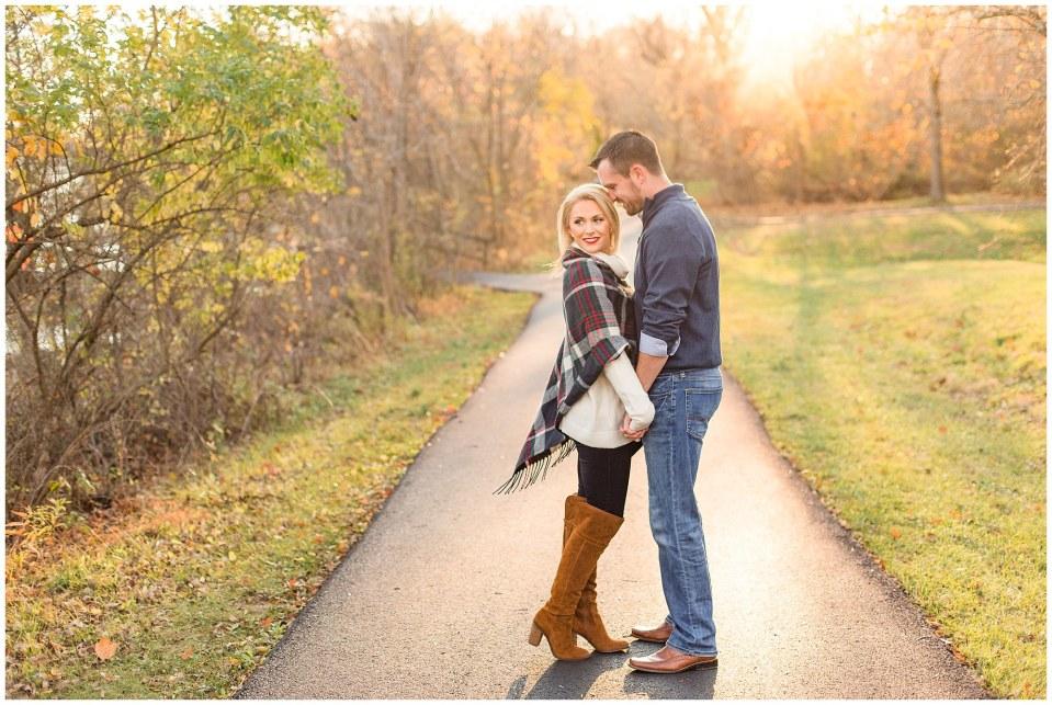 Donovan & Lauren's Winter Engagement at Peace Valley Park in Perkasie, PA Photos_0021.jpg