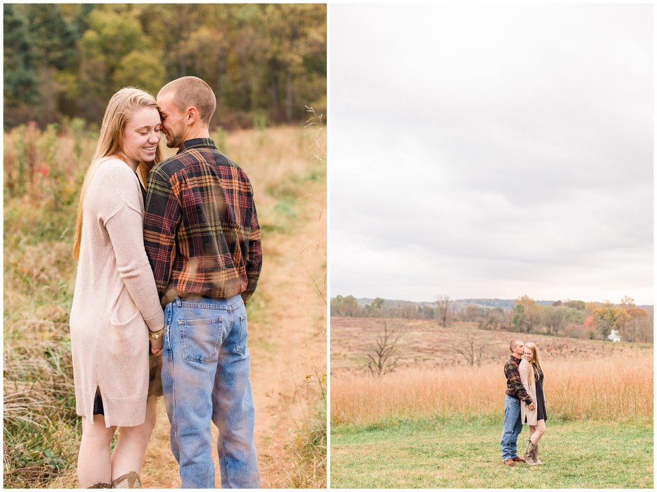 Sheldon & Stephanie's Country Fall Engagement Session at Valley Forge Park Photos_0005.jpg