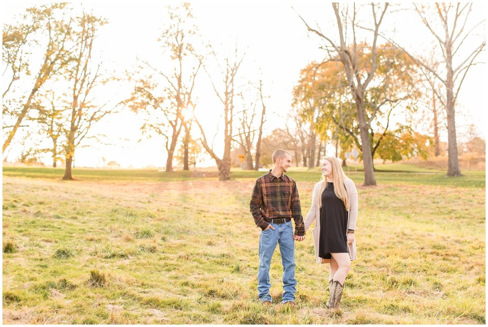 Sheldon & Stephanie's Country Fall Engagement Session at Valley Forge Park Photos_0014.jpg