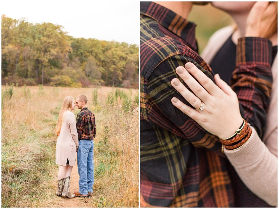 Sheldon & Stephanie's Country Fall Engagement Session at Valley Forge Park Photos_0018.jpg