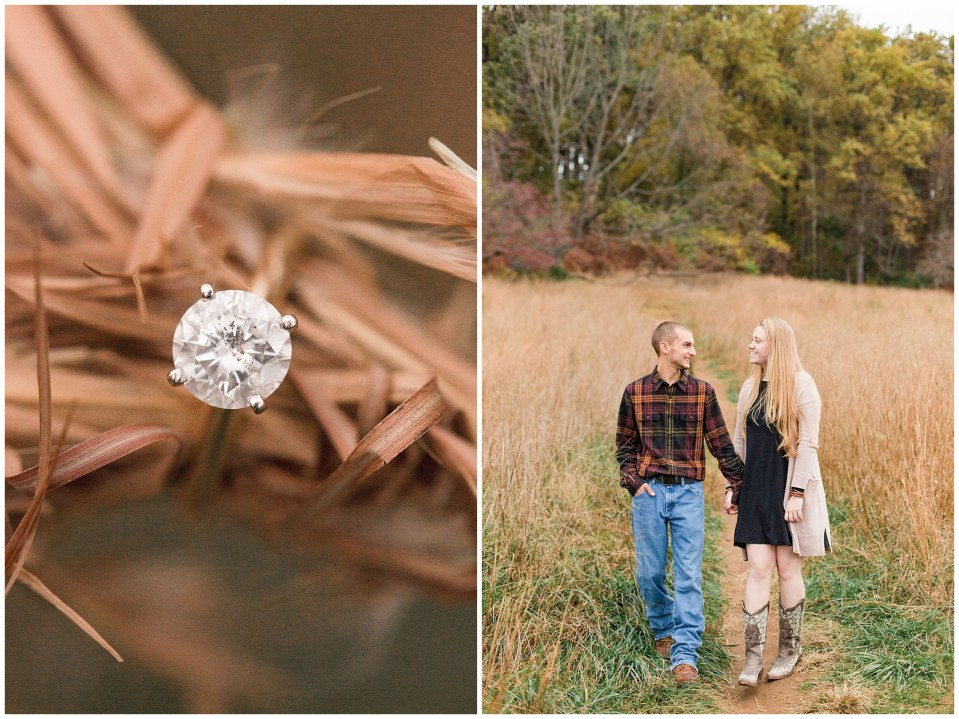Sheldon & Stephanie's Country Fall Engagement Session at Valley Forge Park Photos_0020.jpg