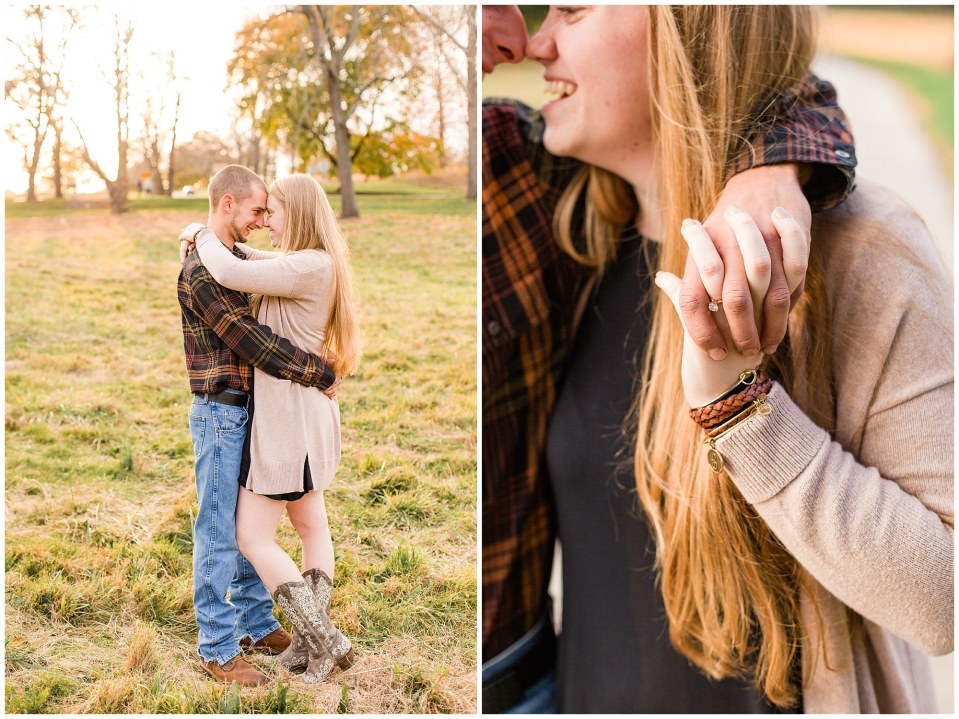 Sheldon & Stephanie's Country Fall Engagement Session at Valley Forge Park Photos_0026.jpg