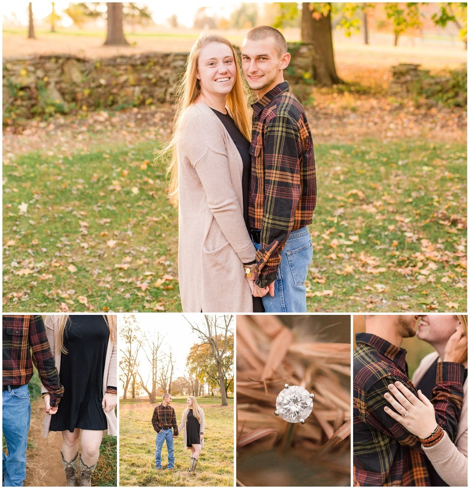 Sheldon & Stephanie's Country Fall Engagement Session at Valley Forge Park Photos_0028.jpg