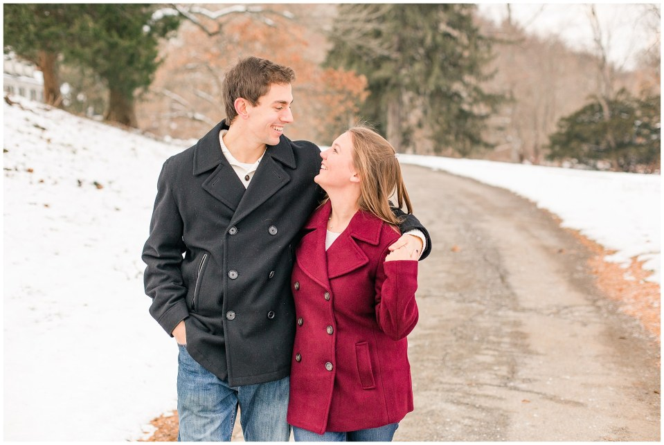 Jackson & Emily's Snowy Engagement Session in Valley Forge Park Photos_0008.jpg